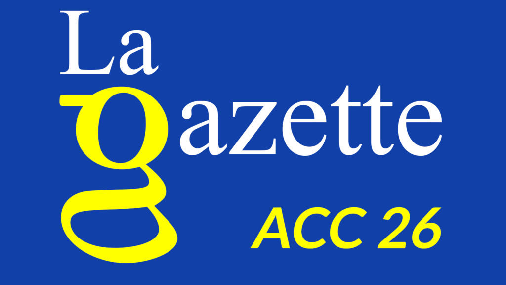 La Gazette ACC 26